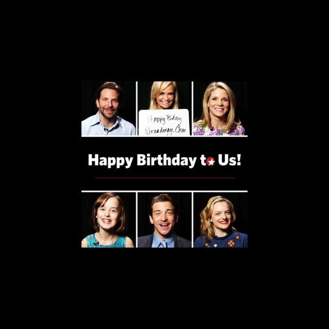 Happy Birthday Broadway.com