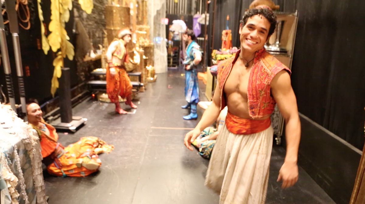Still - Aladdin - Behind the Scenes