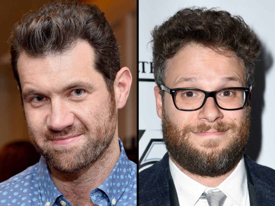 Billy Eichner - Seth Rogen - 4/17 - Getty Images