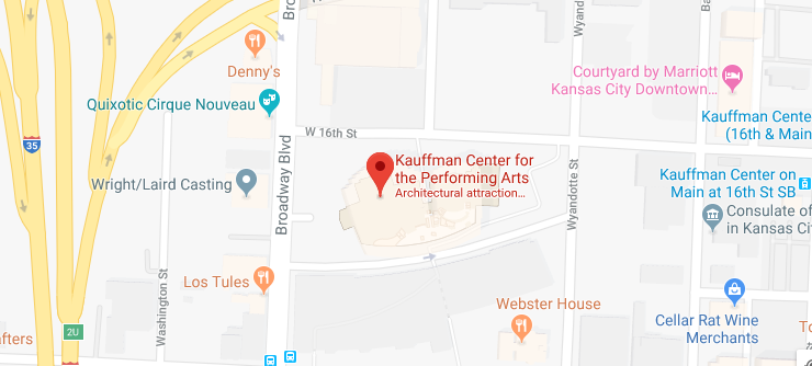Muriel Kauffman Theatre location