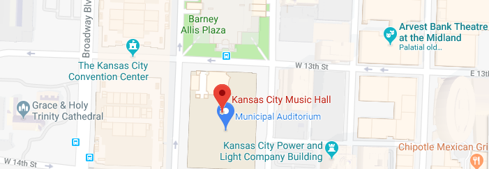 Music Hall Location